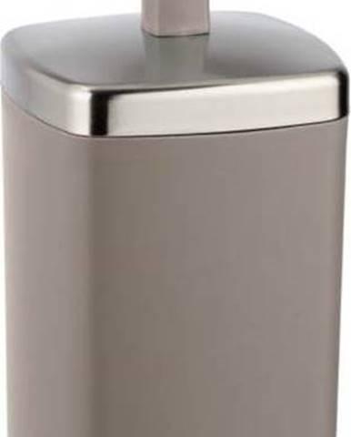 Hnědobéžový WC kartáč Wenko Barcelona