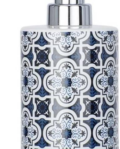Modrý keramický dávkovač na mýdlo Wenko Murcia