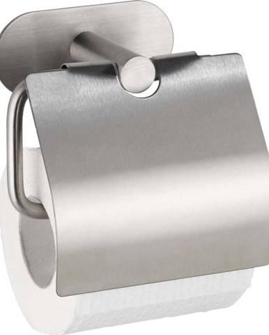 Nerezový držák natoaletní papír bez nutnosti vrtání Wenko Turbo-Loc® Orea Cover