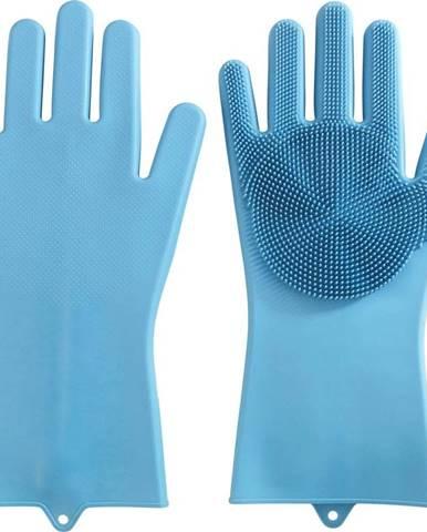 Pár silikonových rukavic namytí nádobí Wenko Rena