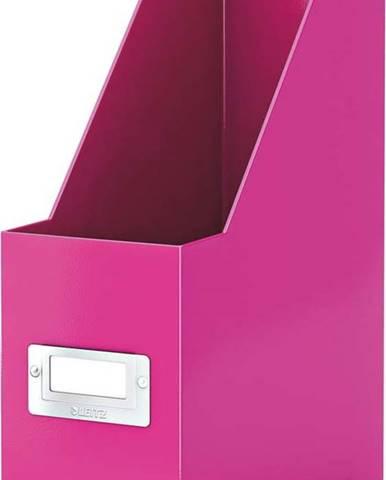 Růžový stojan na dokumenty Leitz Office