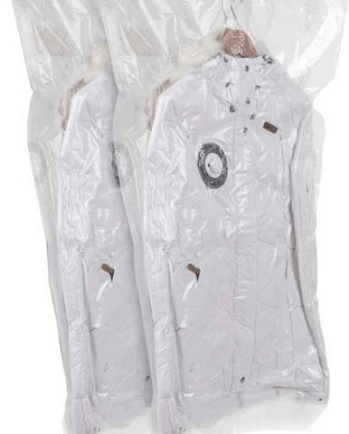 Sada 2 závěsných vakuových úložných obalů na oblečení Compactor Espace, 70 x 105 cm
