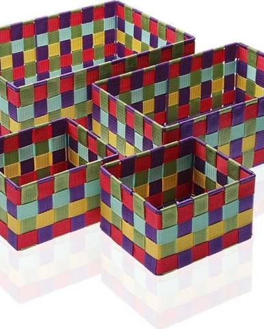 Sada 4 úložných košíků Versa Giardino