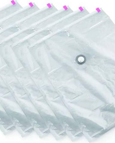 Sada 6 vakuových úložných obalů na oblečení Compactor Large Vacuum Bags, 80 x 100 cm