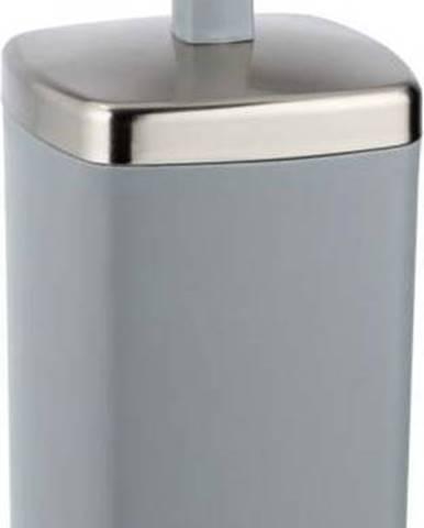 Šedý WC kartáč Wenko Barcelona
