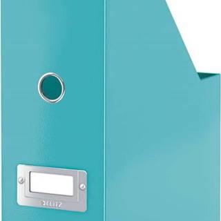 Tyrkysově modrý stojan na dokumenty Leitz Office