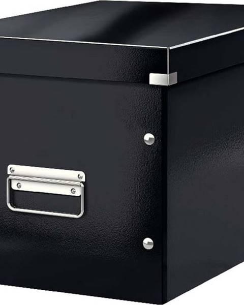 Leitz Černá úložná krabice Leitz Office, délka 36 cm