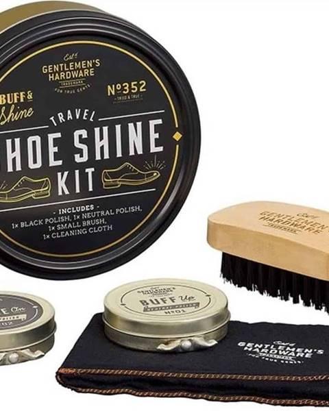 Gentlemen's Hardware Cestovní sada na čištění obuvi Gentlemen´s Hardware