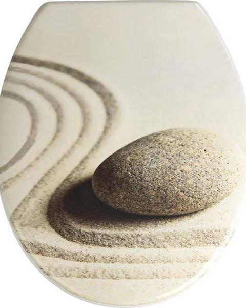 WENKO WC sedátko Wenko Sand And Stone, 45 x 37,5 cm
