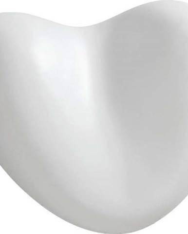 Bílá opěrná podložka do vany Wenko Bath Pillow White, 25 x 11 cm