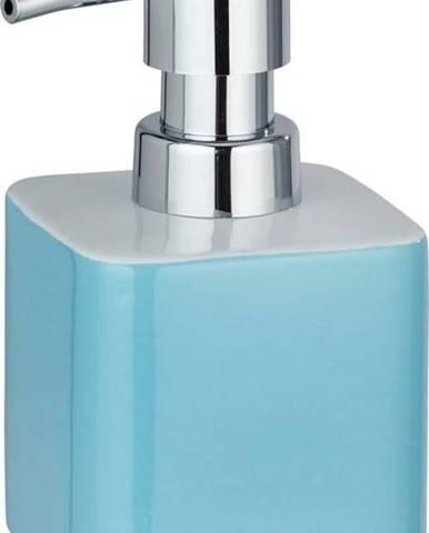 Modrý keramický dávkovač na mýdlo Wenko Elmo