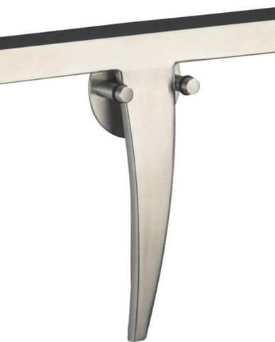 Stěrka do sprchy z nerezové oceli s nástěnným držátkem Wenko