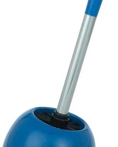 Tmavě modrý toaletní kartáč Wenko Polaris Dark Blue
