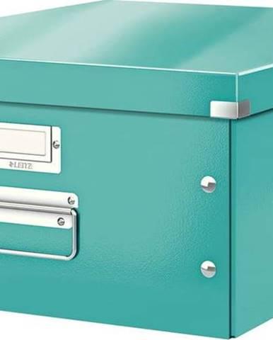 Tyrkysově modrá úložná krabice Leitz Universal, délka 48 cm