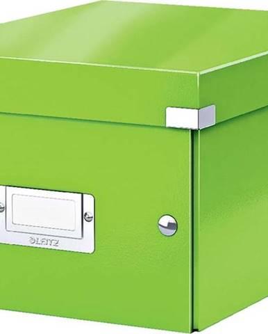 Zelená úložná krabice Leitz Universal, délka 28 cm