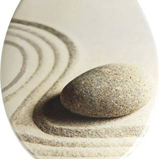 WC sedátko Wenko Sand And Stone, 45 x 37,5 cm