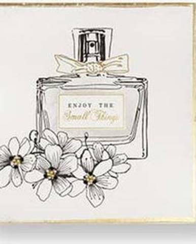 Sada 3 obrazů Graham & Brown Pretty Perfume Bottles, 30 x 30 cm