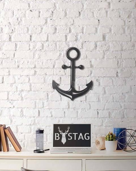 Bystag Nástěnná kovová dekorace Anchor, 47x35 cm