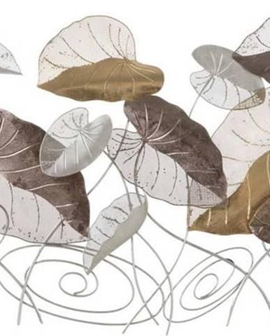 Nástěnná kovová dekorace Mauro Ferretti Loty, 135x69cm