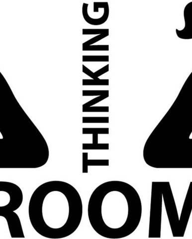 Samolepka Ambiance Thinking Room, 25 x 35 cm