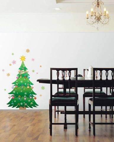 Vánoční samolepka Ambiance Christmas Tree and Stars