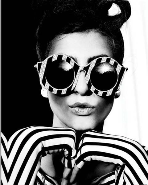Styler Obraz Styler Canvas Glam Glasses, 60 x 80 cm