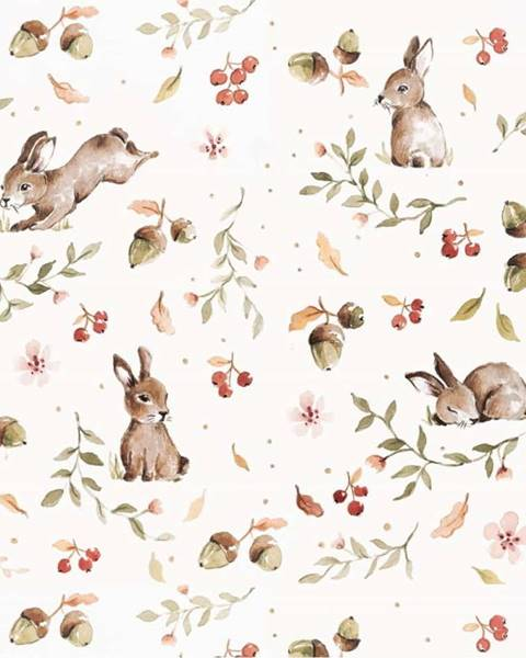 Dekornik Tapeta na zeď Dekornik Happy Rabbits, 50x280cm