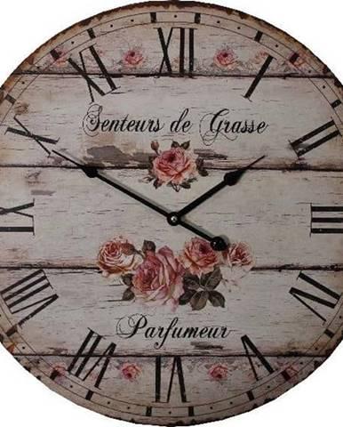 Nástěnné hodiny Antic Line Parfumeur