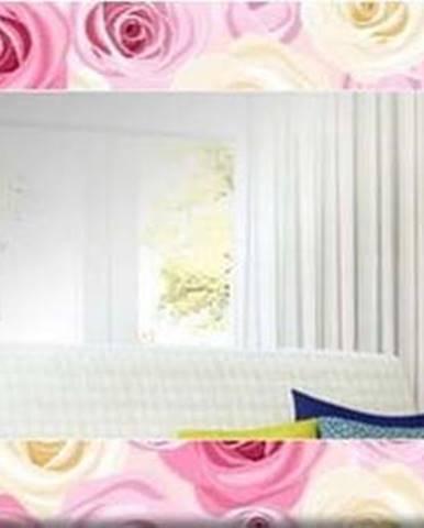 Nástěnné zrcadlo Oyo Concept Roses,120x40cm