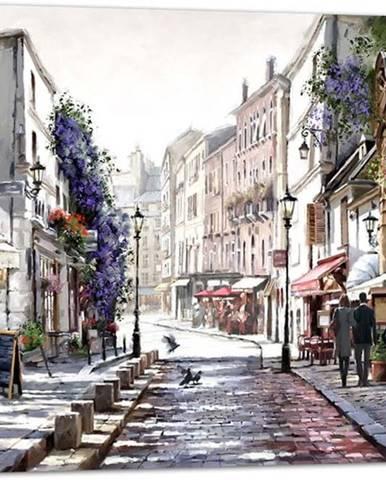 Obraz Styler Canvas Watercolor Paris II, 75 x 100 cm
