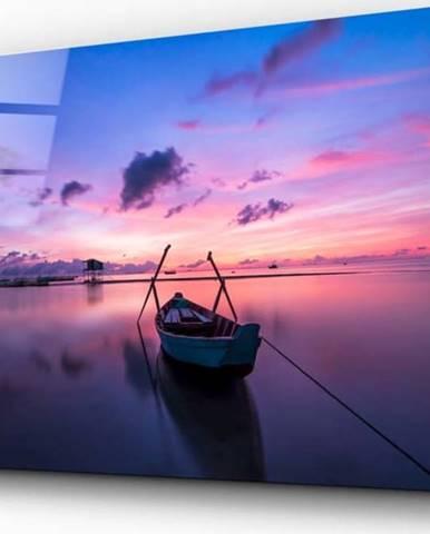 Skleněný obraz Insigne Sunset Painting on the Boat,110 x70cm