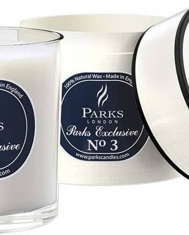 Svíčka s vůní agarového dřeva, koření a pačuli Parks Candles London Exclusive, 50 hodin hoření