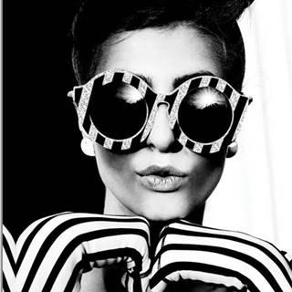 Obraz Styler Canvas Glam Glasses, 60 x 80 cm