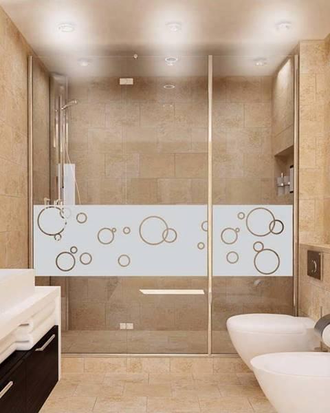 Ambiance Voděodolná samolepka do sprchy Ambiance Bubbles, 200 x 55 cm