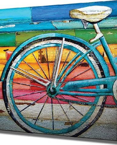 Nástěnný obraz na plátně Bike, 45 x 45 cm