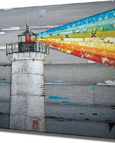 Nástěnný obraz na plátně Lighthouse, 45 x 45 cm