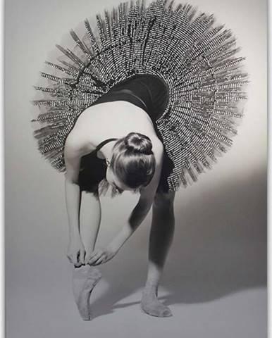 Obraz Styler Canvas Glam Balerina, 60 x 80 cm