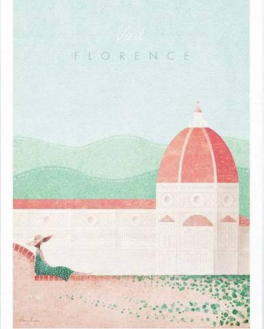 Plakát Travelposter Florence, A3