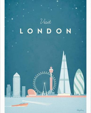 Plakát Travelposter London, A3