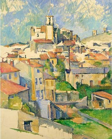 Reprodukce obrazu Paul Cézanne - Gardanne, 60x80cm