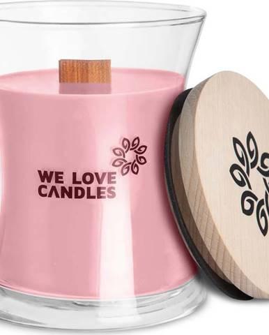 Svíčka ze sójového vosku We Love Candles Basket of Tulips, doba hoření 64 hodin