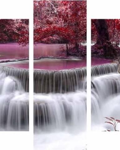 Vícedílný obraz Waterfall, 92x56 cm