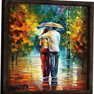 Nástěnný obraz Fall Walk, 34 x 34 cm