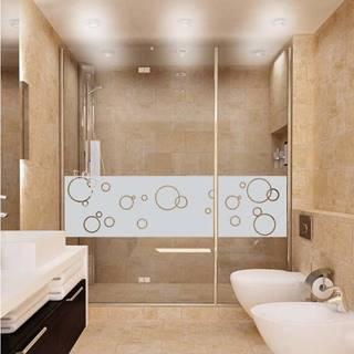 Voděodolná samolepka do sprchy Ambiance Bubbles, 200 x 55 cm