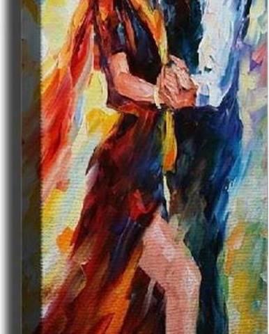 Nástěnný obraz na plátně Dance, 30 x 80 cm