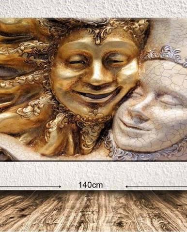 Obraz Tablo Center Embrace, 140x100cm