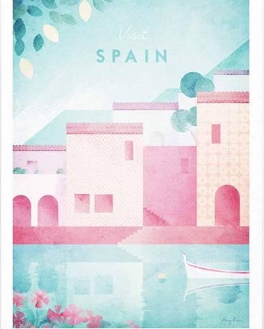 Plakát Travelposter Spain, A2