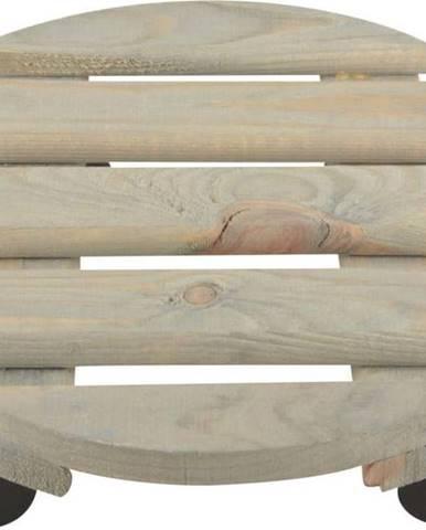 Podložka pod květináč z borovicového dřeva Esschert Design, ⌀ 29cm