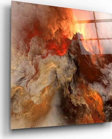 Skleněný obraz Insigne Golden Chaos,40 x40cm