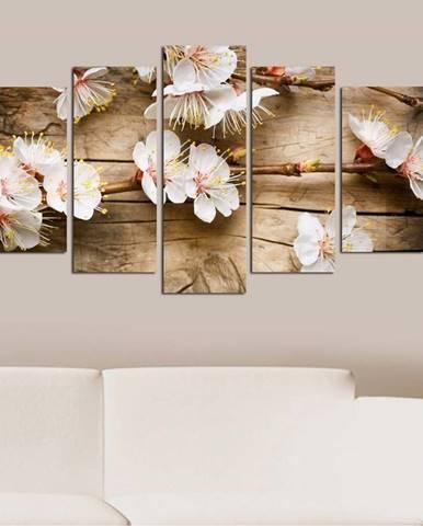 Vícedílný obraz Flower In The Blossom, 110x60 cm